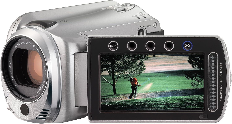 JVC GZ-HD 500 SEU Full-HD Festplatten-Camcorder silber: Amazon.de: Kamera