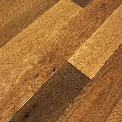 Vintage Honey White Oak Engineered Hardwood Floor Sample
