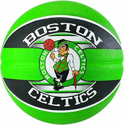 Spalding NBA Team Boston Celtics 83-505Z Balón de Baloncesto ...