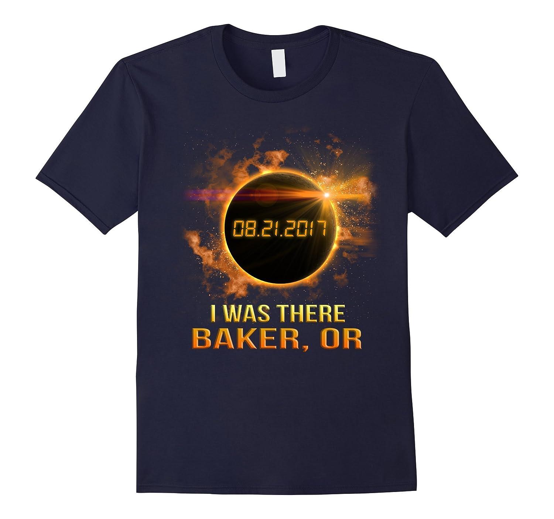 baker Oregon Total Solar Eclipse 2017 Shirt-Art