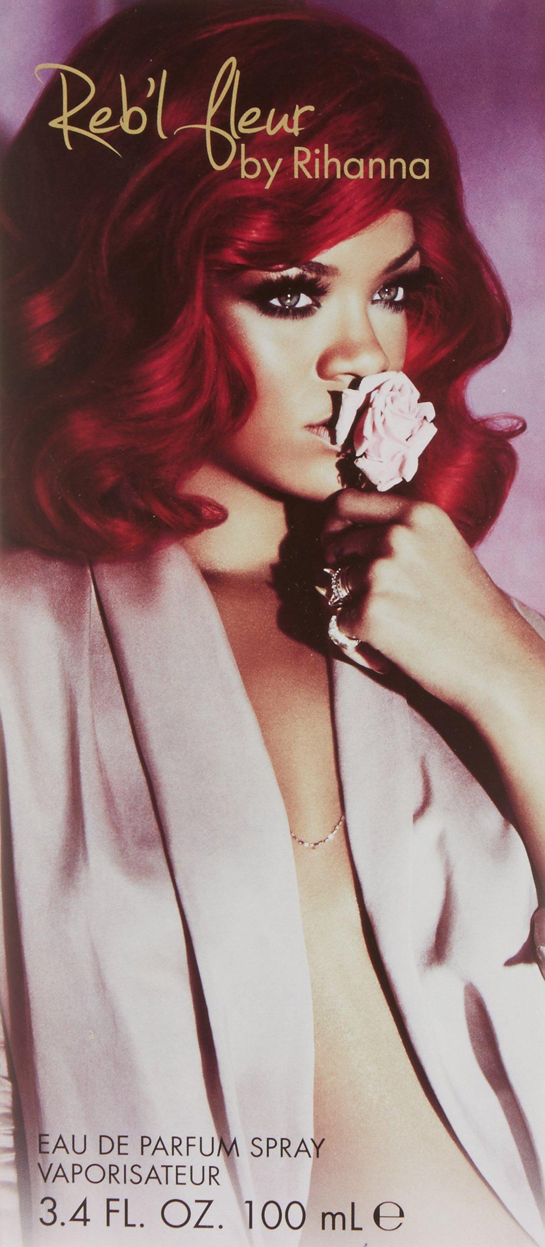 Reb'L Fleur by Rihanna, 3.4 Ounce, Eau De Parfum Spray