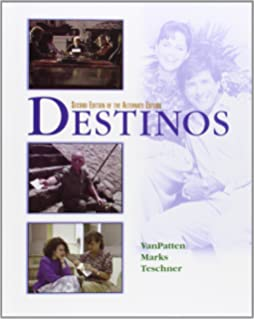 Printables Destinos Worksheets destinos workbookstudy guide 1 lecciones 26 mcdougal littel student edition wlistening comprehension audio cd 2nd edition