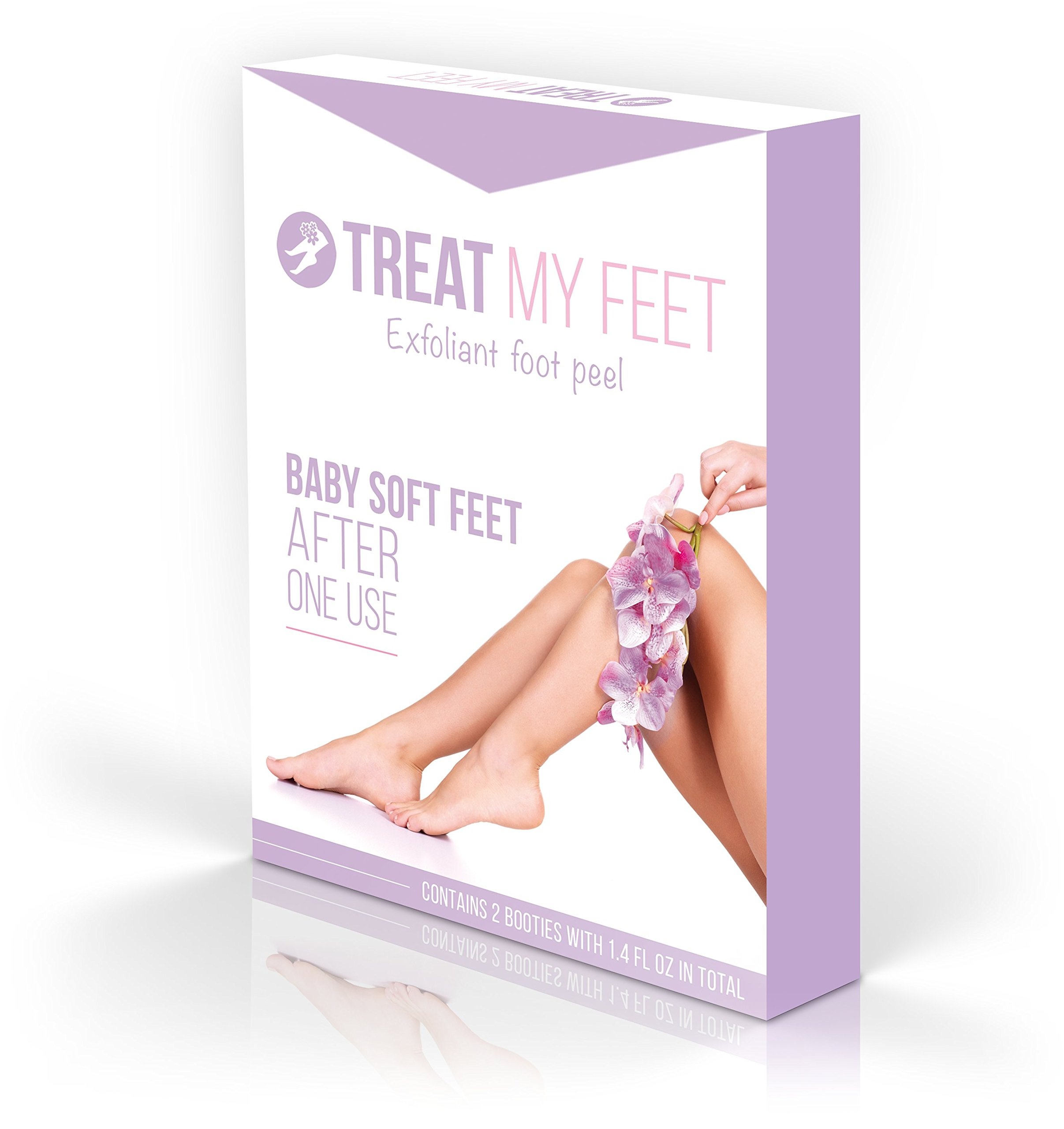 A Softer Foot Peel & Foot Mask to Exfoliate Feet, Repair Rough Heels, Peeling Away Dry Dead Skin, Callus Remover Treatment, Smooth Cracked Heels Pack with Two Foot Cream & Lotion Scrub Socks!