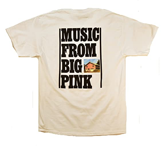 Amazon.com: The Band Music From Big Pink T-Shirt: Clothing