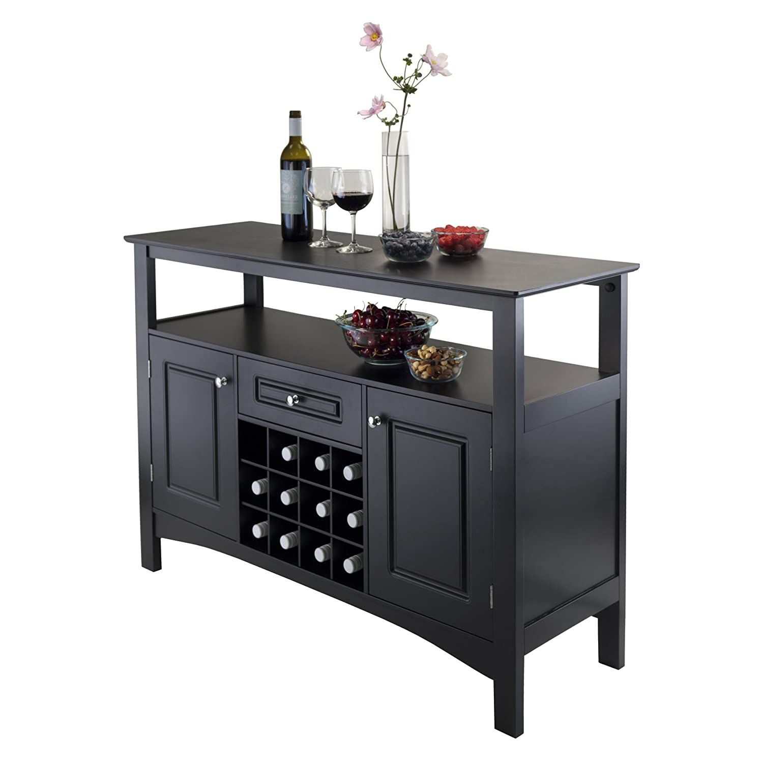 - Amazon.com - Winsome Wood Jasper Storage Buffet - Buffets & Sideboards