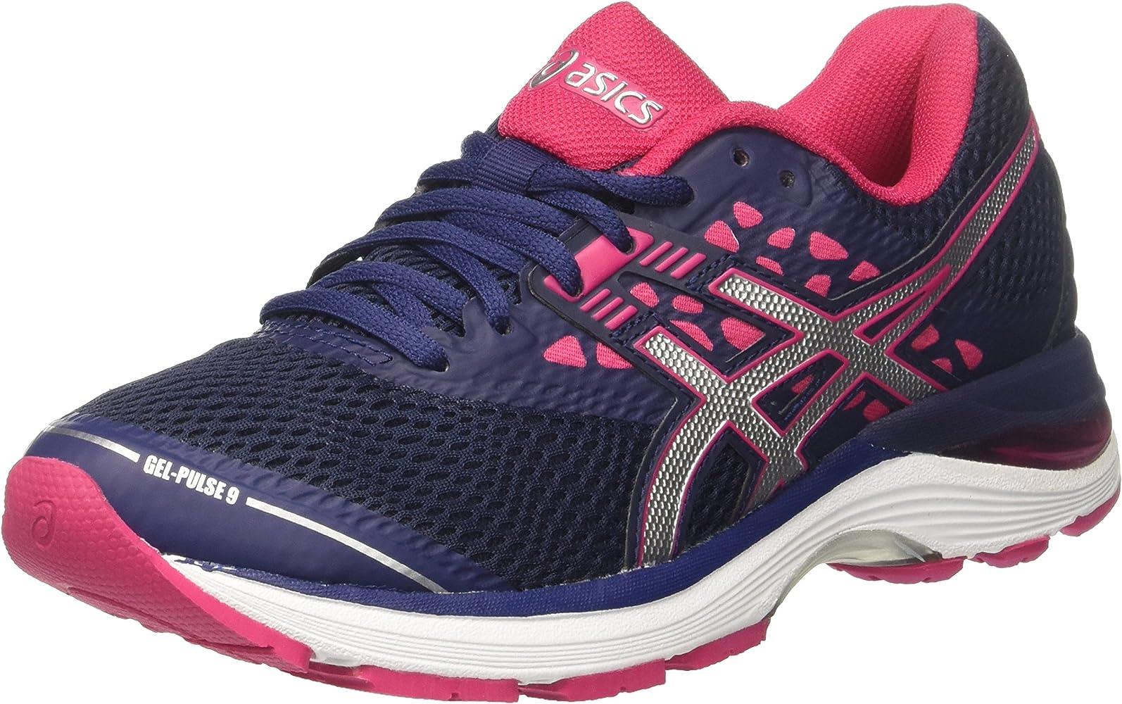 ASICS Gel Pulse 9, Chaussures de Running Femme, Bleu (Indigo
