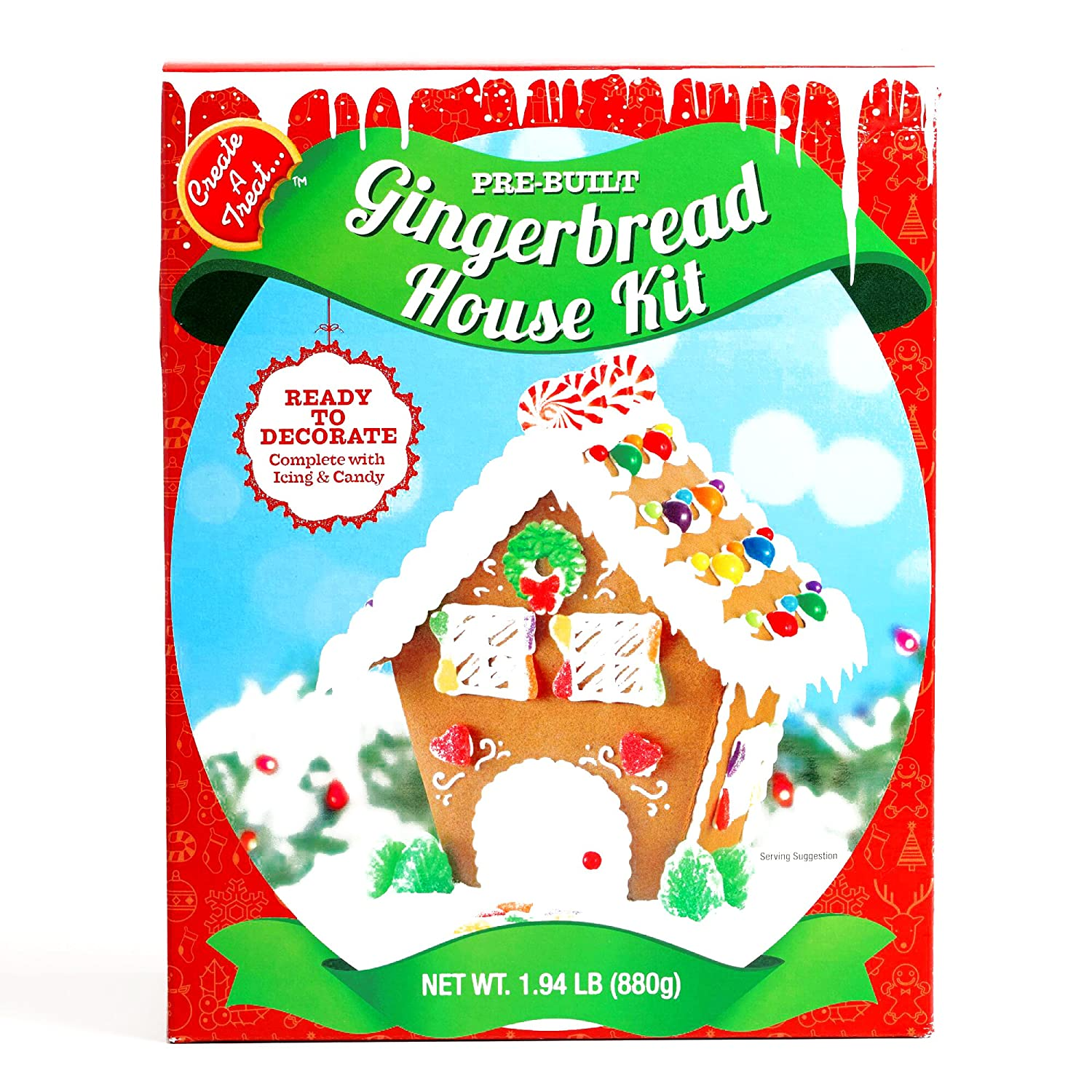 Christmas Gingerbread House Kit.Chalet Gingerbread House Kit 1 Unit Per Order Gourmet Christmas Gift For The Holidays
