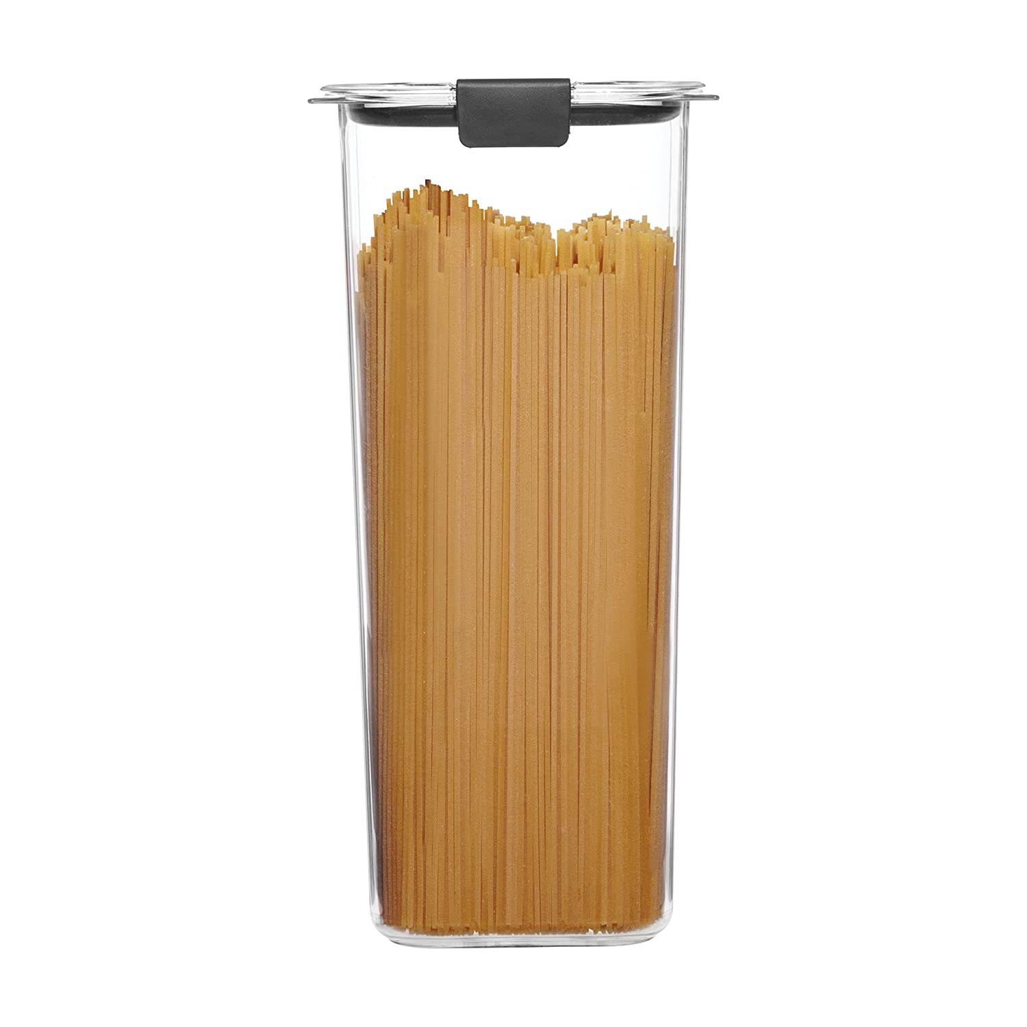 Rubbermaid 1994226 Container, BPA-Free Plastic, Brilliance Pantry Airtight Food Storage, Open Stock, Spaghetti (8.1 Cup)