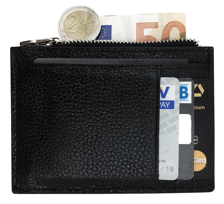 KAIOVA Clip de Dinero Cuero Cartera - Slim Billetero Tarjetero para Hombre De Crédito Cuero Fina para Hombres y Mujeres, con Compartimentos Tarjetas crédito ...
