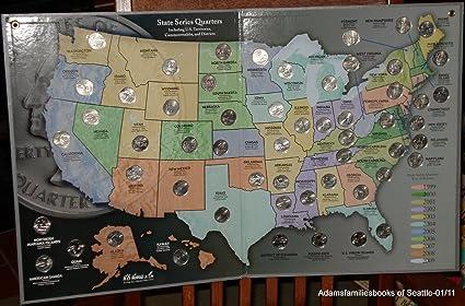 1999 2000 2001 2002 2003 2004 2005 2006 2007 2008 P+D Statehood Quarters