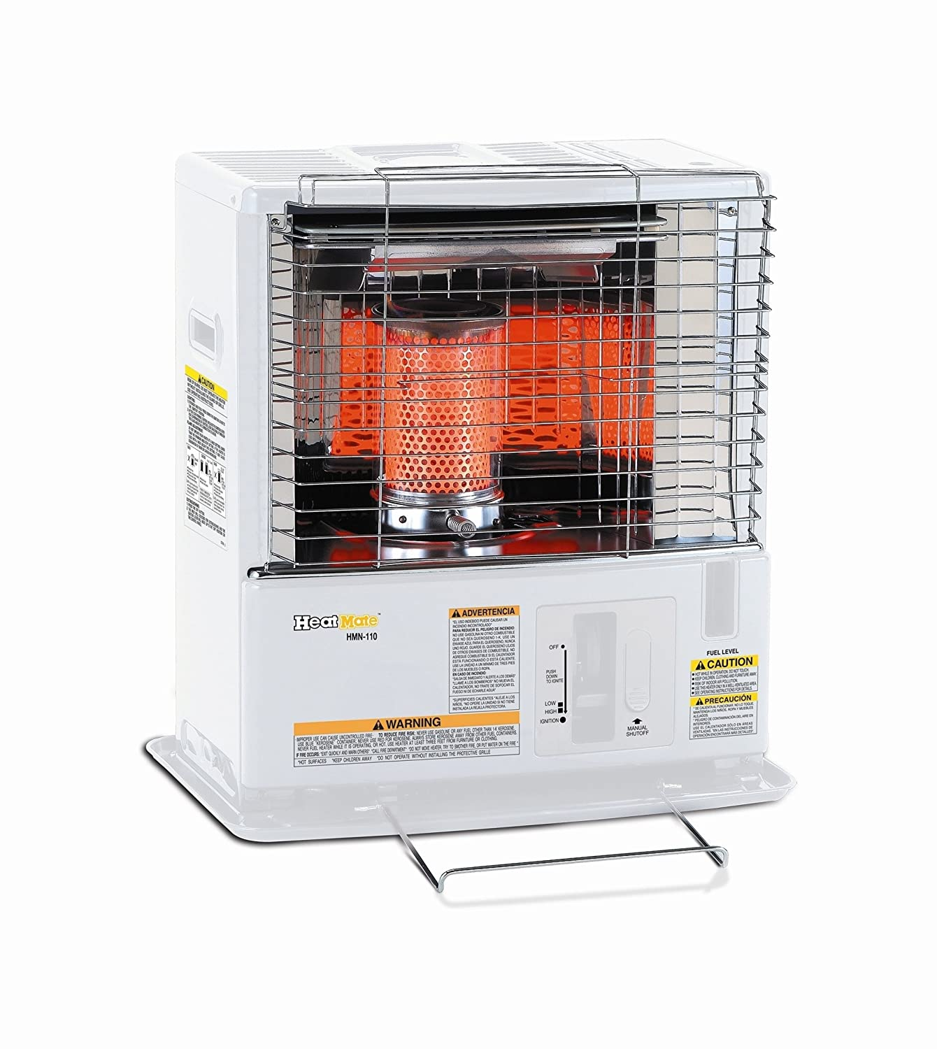 Sengoku HeatMate 10,000-BTU Portable Indoor/Outdoor Radiant Kerosene Heater, HMN-110