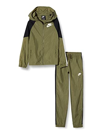 Nike B NSW Woven Track Suit Chándal, Niños: Amazon.es: Deportes y ...