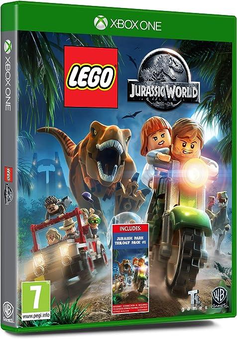 Lego Jurassic World - Amazon.co.UK DLC Exclusive - Xbox One ...
