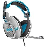 ASTRO Gaming A40 Xbox One Edition Biauricular Diadema Negro, Azul, Gris auricular con micrófono - Auriculares con micrófono (Consola de juegos, Biauricular, Diadema, Negro, Azul, Gris, Alámbrico, 1.5 m)
