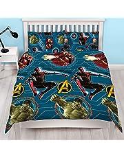 Official Avengers Endgame Single/Double/Curtains Duvet Cover Reversible Bedding Set