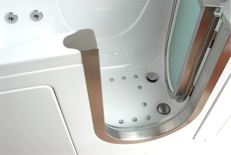 Amazon.com: Deluxe Dual Massage Acrylic Walk In Bathtub -ETL ...