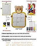 Kids Magnetic Dry Erase Planner Calendar for