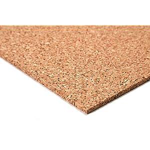 acerto24 - Planchas de corcho (50 x 100 cm, 5 mm grosor, elásticas y antiestáticas)