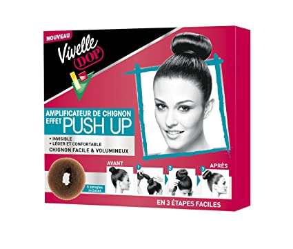 Vivelle Dop - Push Up Amplificateur de Chignon  Amazon.fr  Beauté et ... b8be2abaf45