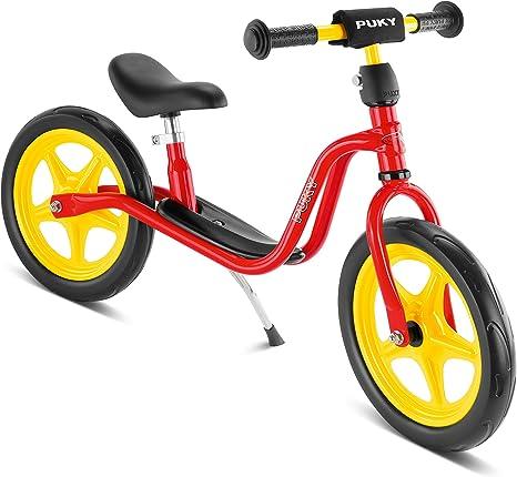 Puky 4014 – Bicicleta sin Pedales con Caballete LR 1, roja: Amazon ...