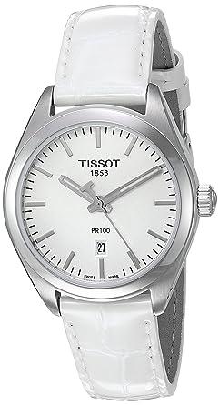 Amazon.com  Tissot Women s  Pr 100  Swiss Quartz Stainless Steel and ... c4f12b5069