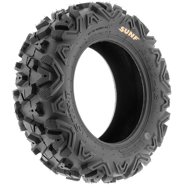 Set of 2 SunF 24x9-11 24x9x11 ATV UTV A//T Replacement Race 6 PR Tubeless Tires A033 POWER I,