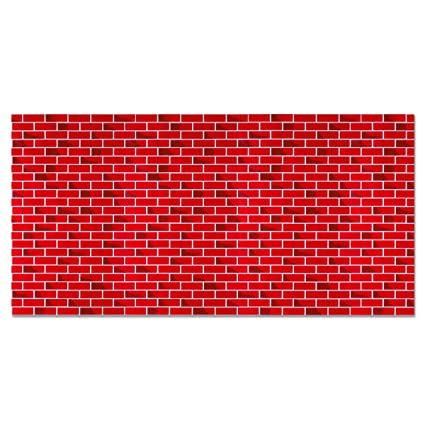 Amazon Fadeless Bulletin Board Art Paper TuTone Brick 60 X Fascinating Brick Pattern Paper