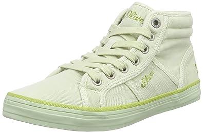 s.Oliver 25206, Damen Hohe Sneakers, Grün (Mint 703), 39 EU (6 Damen ... f6dde643f9
