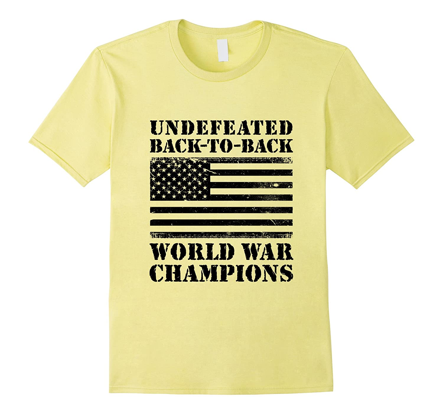 2890728b0 Undefeated Back-To-Back World War Champions T-shirt-CL – Colamaga