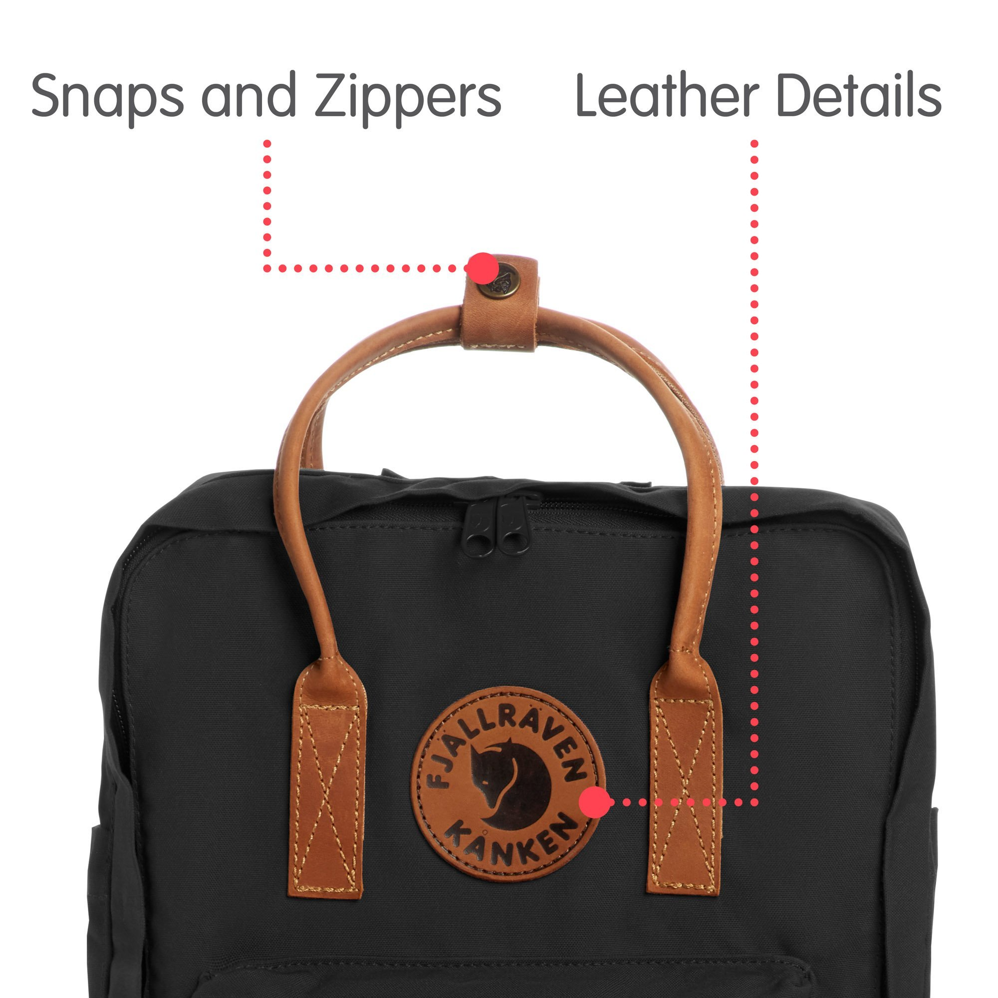 Fjallraven Kanken No 2 Heritage And Responsibility Since 1960 No2 Full Black F23565 Outdoor Recreation Features Sports Outdoors Tibs