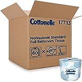 Cottonelle Professional Bulk Toilet Paper for Business (17713), Standard Toilet Paper Rolls, 2-PLY, White, 60 Rolls…