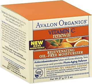 product image for Avalon Organics: Vitamin C Rejuvenating Oil-Free Moisturizer, 2 oz