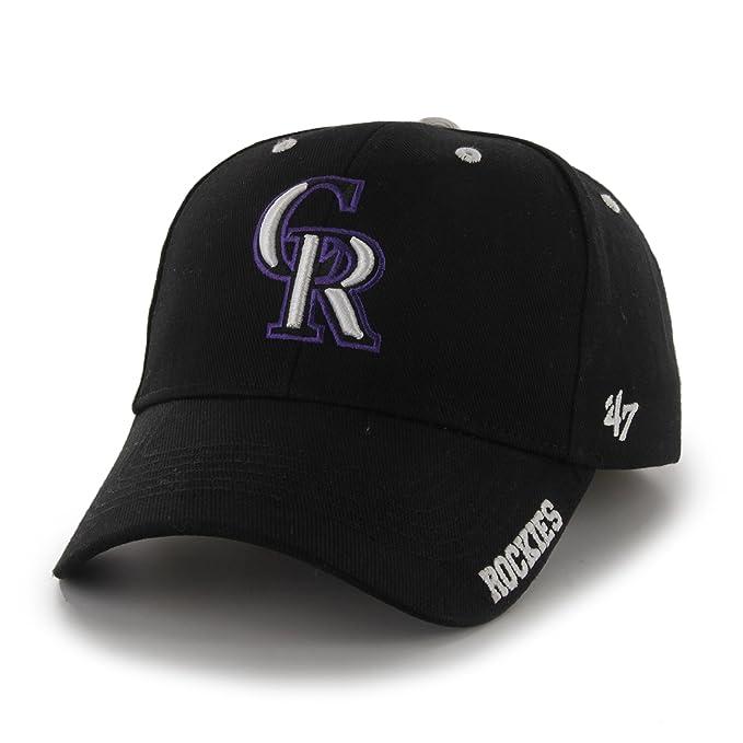 47 MLB Colorado Rockies Gorra de Frost - Gorra Ajustable Hombres ...