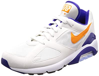 reputable site 0ddfc 01f48 Nike Mens AIR MAX 180, WhiteBright Ceramic-Dark Concord, ...