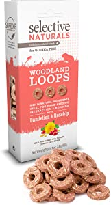 Supreme Petfoods Selective Naturals Woodland Loops For Guinea Pigs (Pack Of Four)