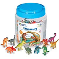 Learning Resources Fichas de Dinosaurios de, Juego de 60 Dinosaurios de Colores, Juguete de motricidad Fina, Mayores de…