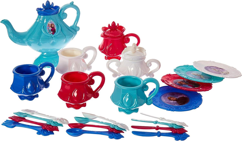 Brand New Play Pretend Tea Party Set Barbie Dinnerware Set Dinner