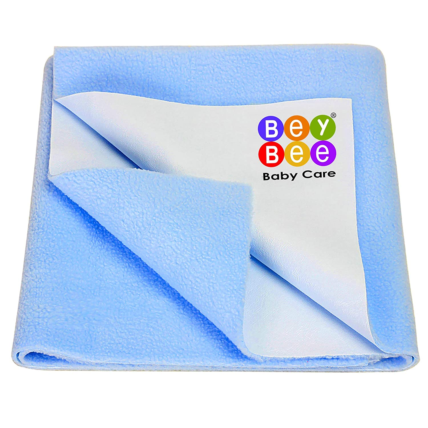 Blentude Waterproof Sheet Incontinence Bed Protector Washable Crib Mattress Sheets For Baby Toddlers Children Adults Pets Fits 43.31x23.62 Inch Crib Mattress