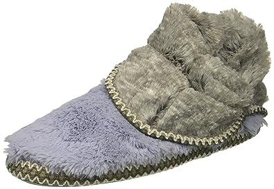 Dearfoams Womens Faux Fur Foldown Boot Slipper