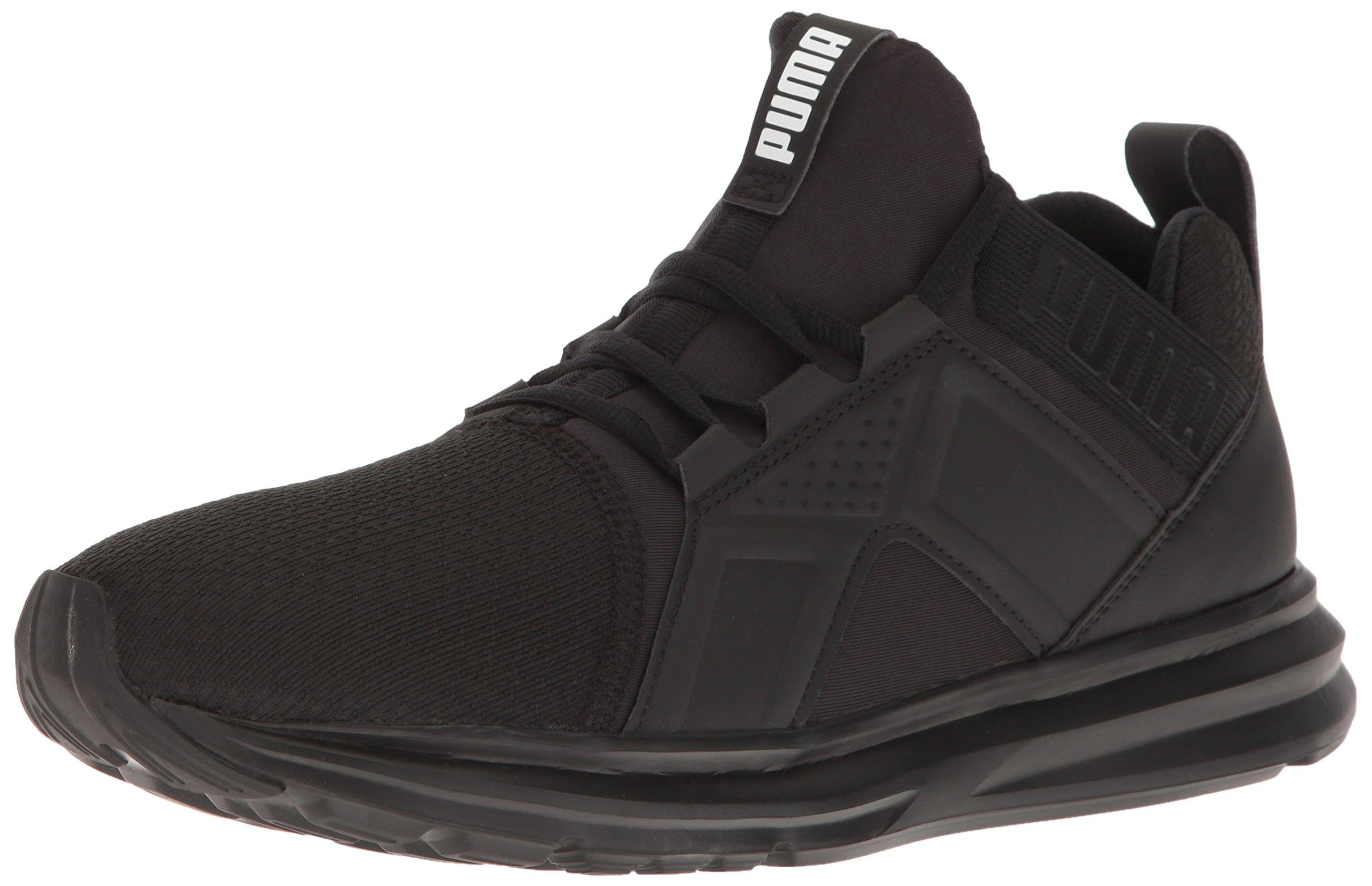 PUMA Men's ENZO Sneaker, Black, 9.5 M US