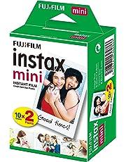 Fujifilm Instax Mini Brillo - Película fotográfica instantánea (2 x 10 hojas)