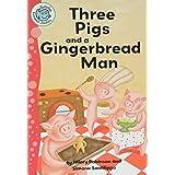 Three Pigs and a Gingerbread Man (Tadpoles: Fairytale Jumbles)