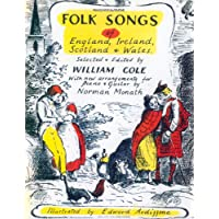 Folk Songs of England, Ireland, Scotland and Wales: Piano/Vocal/Guitar
