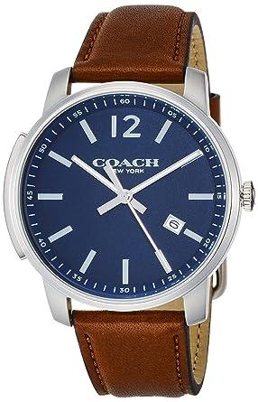 fc5c7dbc6427 Amazon | [コーチ]COACH 腕時計 ブリーカースリム 14602004 メンズ ...