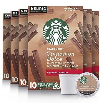 Starbucks Cinnamon Dolce Flavored Blonde Roasted K-Cup
