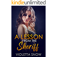 A Lesson from the Sheriff: A Daddy Dom Dubcon Romance (Tease Me Book 5)