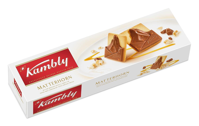 Kambly Matterhorn 100 g, paquete de 3 (3 x 100 g): Amazon.es: Alimentación y bebidas