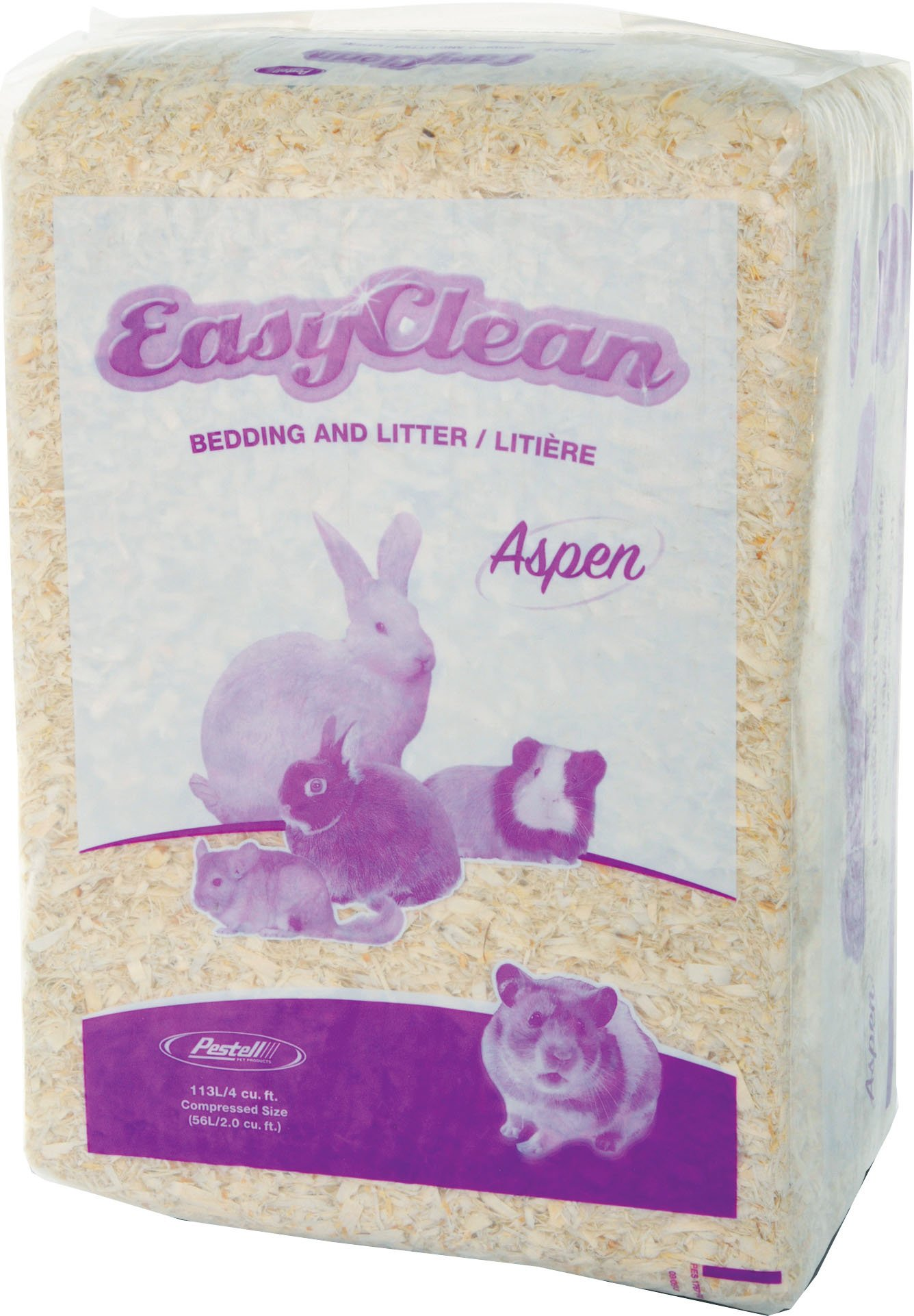 Pestell Pet Products Easy Clean Aspen Bedding, 113 Liters by Pestell Pet Products