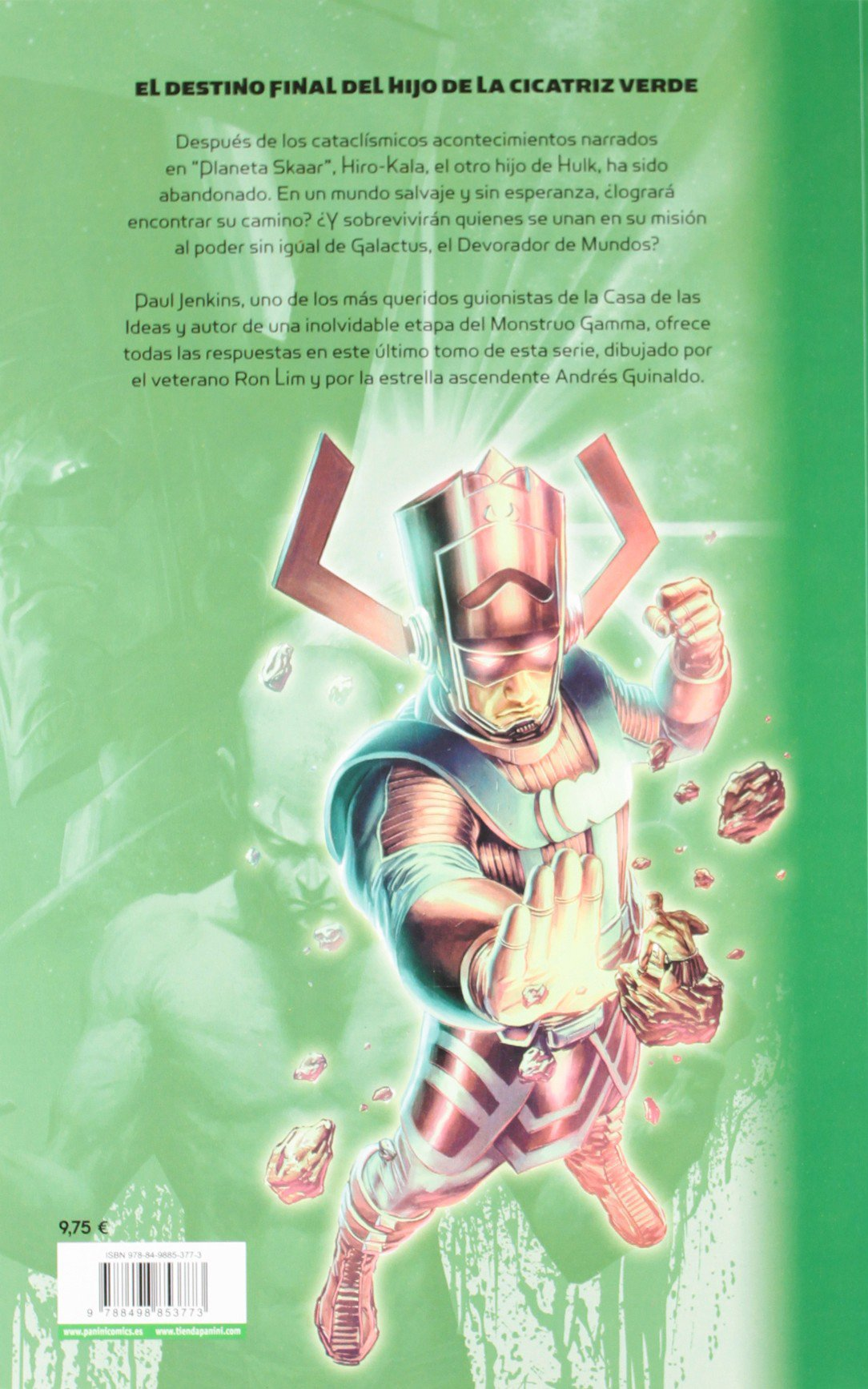 El hijo de Hulk 3: Amazon.es: Guinaldo, Andrés, Jenkins, Paul ...