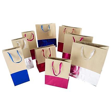 Hallmark - Bolsa de regalo - 4 bolsas medianas, 2 bolsas ...